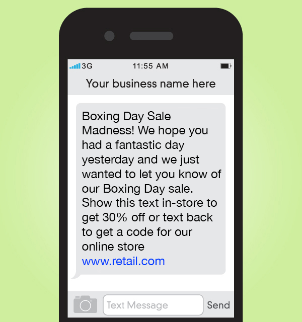 SMS campaign
