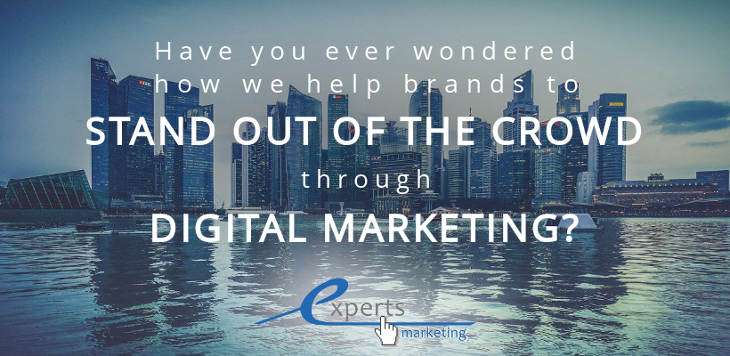 Have you ever wondered how we help brands to stand out of the crowd through digital marketing?