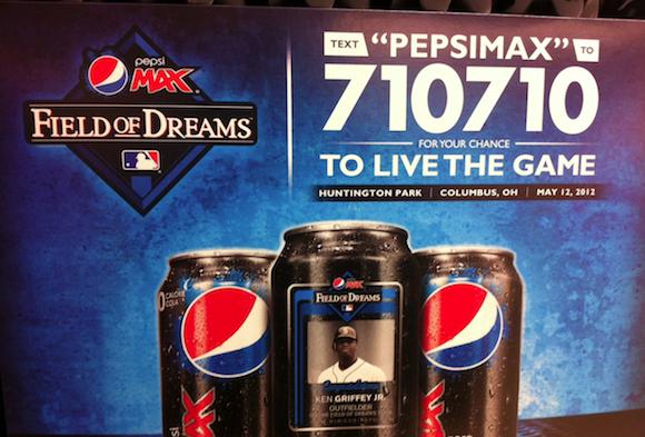 Pepsi SMS campaign