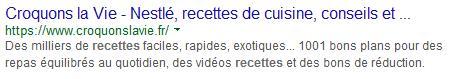 meta description Google 2
